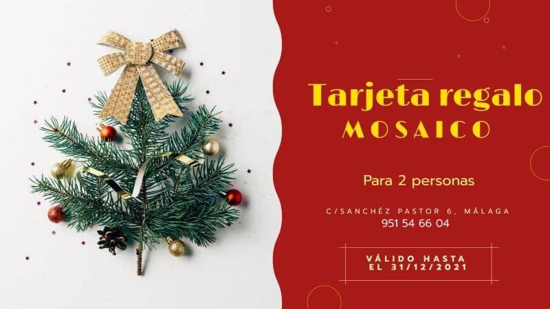 Tarjeta regalo Mosaico web